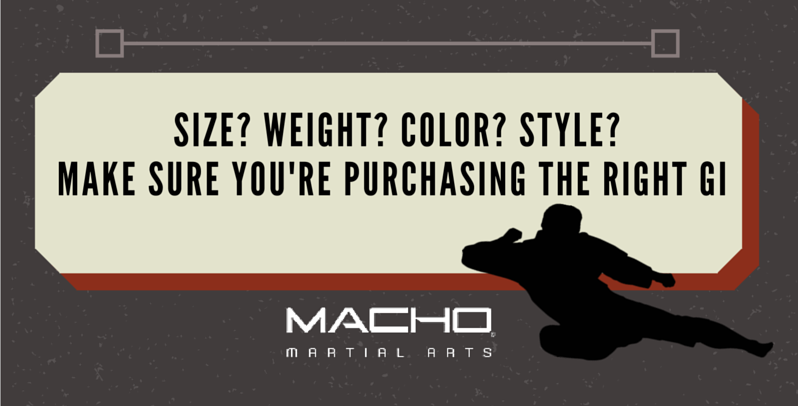 How to make sure you're purchasing the right Gi